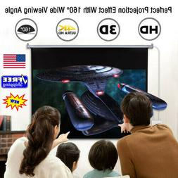 100'' 16:9 1.2Gain Wall Ceiling Electric Motorized HD Projec