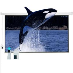 "100"" 16:9 Electric Motorized Projector Projection Screen Rem"