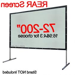 100-200 Inch Behind Back Rear Project Screen for Home Theate