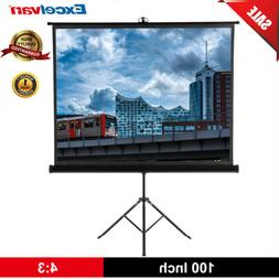 100'' 3D HD 1080P Pull Up Projection Screen LCD DLP Projecto