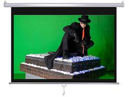 "Maxstar 100"" 4:3 e-z pull down Manual Projector Screen Wall/"