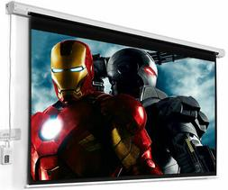 """100"""" 4:3 Electric Auto Projector Projection Screen 80X60 Rem"""