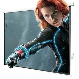 100'' 4:3 Electric Remote Control Projection Screen HD M