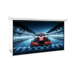 "Homegear 100"" HD Motorized 16:9 Projector Screen W/Remote"