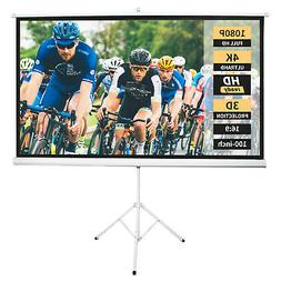 Neewer 100-inch 16:9 Projector Screen with Stand Projection