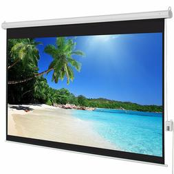 "100"" inch 4:3 HD Electric Motorized Projector Screen Project"