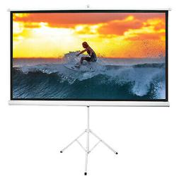 Neewer 100-inch 4:3 Projector Screen with Stand Projection S