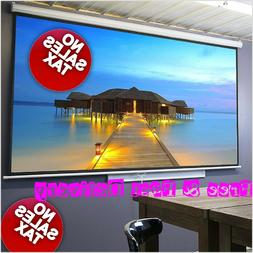 100 inch pull down movie projector screen