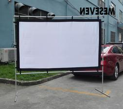 """100"""" Foldable Outdoor Movie Projection Screen Film for Proje"""