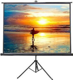 VIVO 100' Portable Indoor Outdoor Projector Screen, 100 Inch