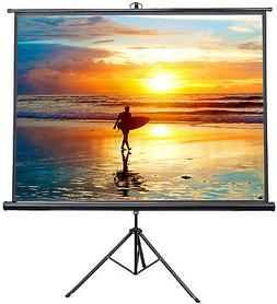 "VIVO 100"" Portable Projector Screen 4:3 Projection Pull Up F"