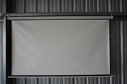 "100"" Projector 16:9 Projection Screen-White"