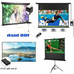 100'' Projector Screen 16:9 Projection Electric Motorized Ma
