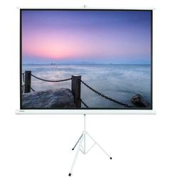 "Leadzm 100"" Ratio 4:3 Projection Projector Screen Manual Pul"