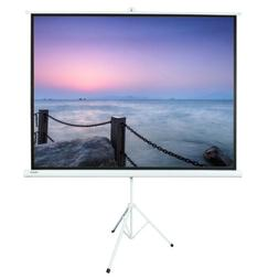 """100"""" Ratio 4:3 Projection Projector Screen Manual Pull Up St"""