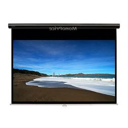 Monoprice 107925 Manual Projection Screen