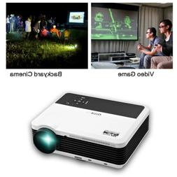 1080P Full HD Video Projector Movie Home Theater Party Games