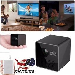 1080P Mini WiFi Projector Portable Projector Video Multimedi