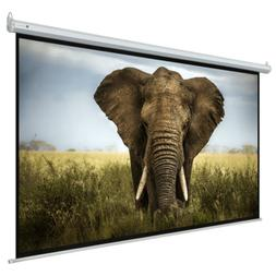 "Homegear 110"" 16:9 HD Electric Motorized Projector Screen +"