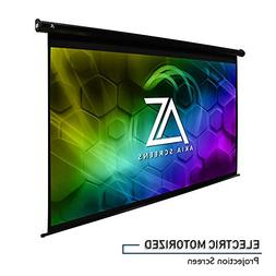 "Akia Screens 110"" Motorized Electric Projector Projection"