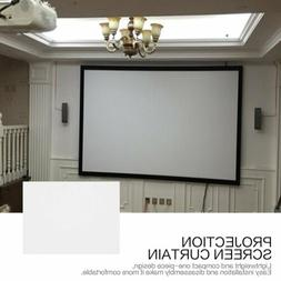 "120""/133""/150""/160""/170"" Projector Projection Screen 16:9 Ho"
