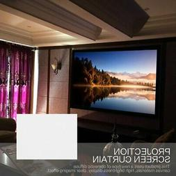 "120""/133""/150""/160""/170"" Projector Screen Home Theater HD Pr"