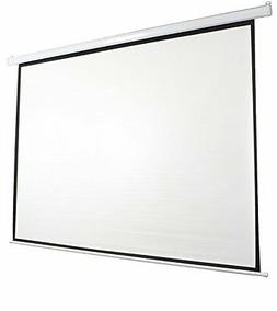 "VIVO 120""  Projector Screen, Manual pull-down 16:9 Projectio"