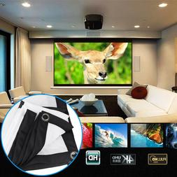 120inch Portable Foldable Projector Screen 16:9 Home Theater