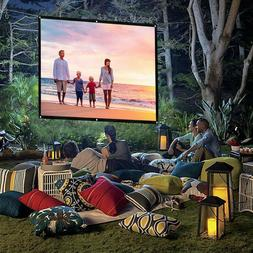 16:9 74-150in HD Projector Screen Home Cinema Theater Projec