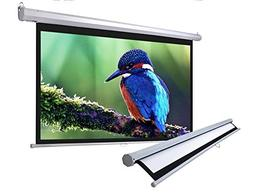 Manual Screen Projector Screen Projection 16:9 Pull Down HD
