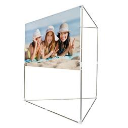 GOOD LIFE 100 Inch 16:9 Portable Projector Screen with Alumi