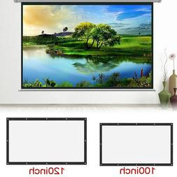 16:9 Projection Projector Canvas Screen Home Movie Manual Pu