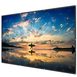 TaoTronics 120 Inch 16:9 Projector Screen - High Contrast PV