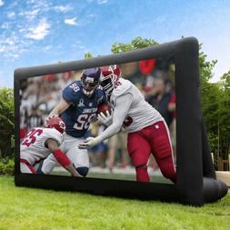 19Ft Inflatable Movie Screen Giant Outdoor Projector Cinema