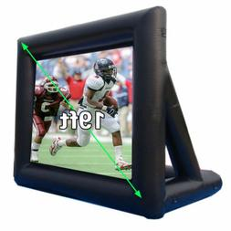 19Ft Movie Screen Inflatable Giant Outdoor Projector Cinema