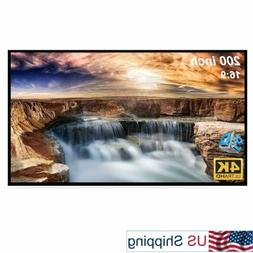 200-inch Large Projector Screen 16:9 Hanging Projection Scre