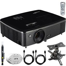 Optoma  Full HD 1080p 3D DLP Home Theater Projector w/ Mount