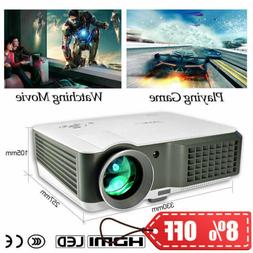 4000Lumen Video Projector LED 7000:1 Full HD 1080p Home Thea