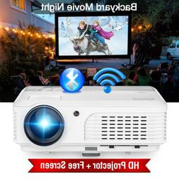 1280*800 Android Projector BT 1080P Home Theater Proyector H
