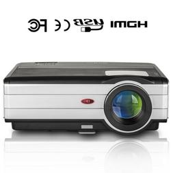 4500lm LED Projector HD Video Home Theater Movie Party 1280*