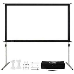 4K Ultra HD Movie Theater Fast Fold Projector Screen Stand 1