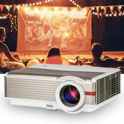1080p Home Theater 5000lm HD Projector LED Movie Night Party