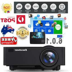 5000Lumens Outdoor LED LCD Projector Full HD Video Home Thea