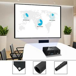 72''/84''/100''/120'' Projector Screen 16:9 4:3 Projection H