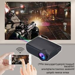 1080P Android/IOS WiFi 3D 4K HD LED Projector Home Theater C
