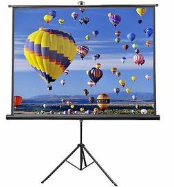 VIVO 84 inch Portable Indoor Outdoor Projector Screen, 84 In