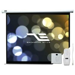 "85"" Electric Motorized Drop Down Projector Projection Screen"