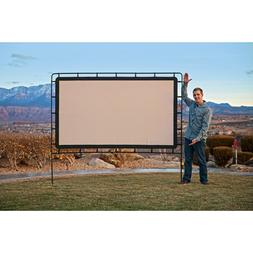 "92"" Easy Portable Outdoor Movie Film Game Projector Screen C"