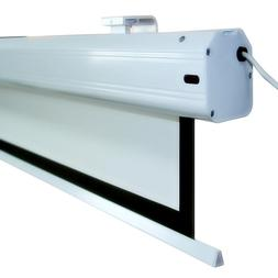 """84"""" Super Deluxe Electric Motorized <font><b>Projector</b></"""