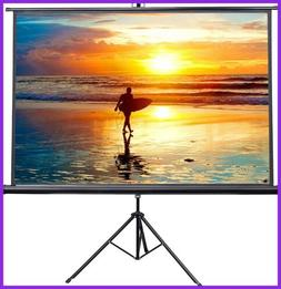 "VIVO 100"" Portable Indoor Outdoor Projector Screen, 100 Inch"